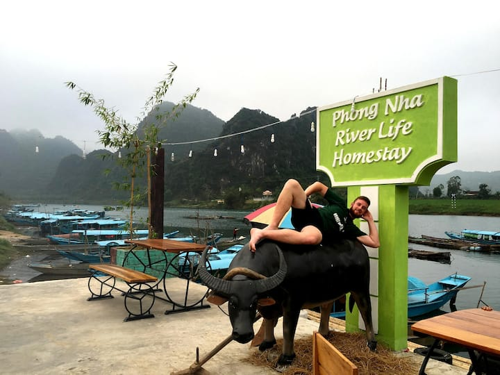 Phong Nha Riverlife - Double Room with River View