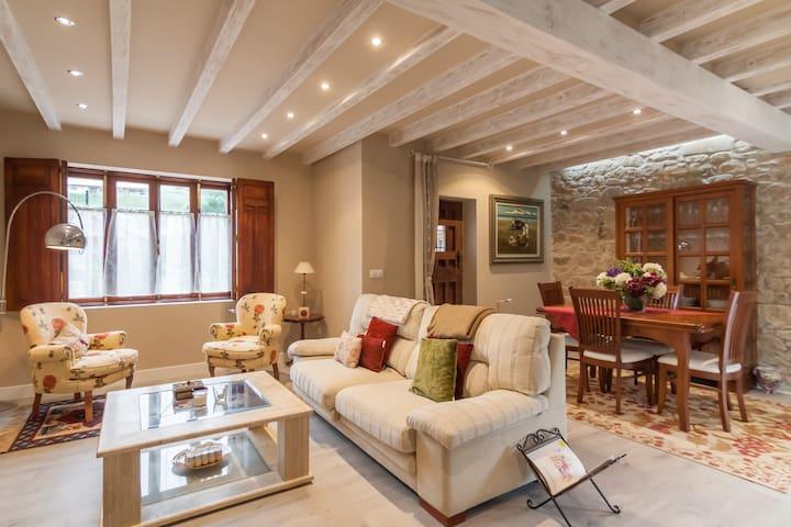 Habitación  acogedora y luminosa - Arce - Huis