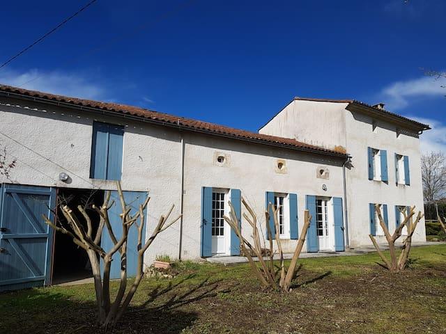 Maison de campagne, proche Saint Emilion - Moulin-Neuf - Loma-asunto