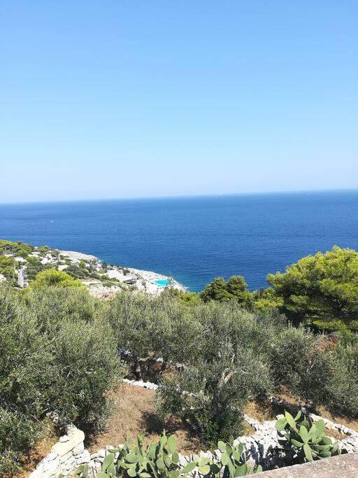 Vista panoramica via Sant Antonio piscina naturale