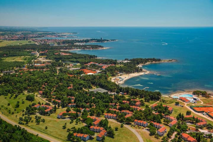 Bungalow for 2 persons with pool in Umag R11434