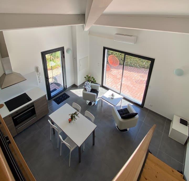 Bel Appartement duplex aux environs d'Aix en Pce