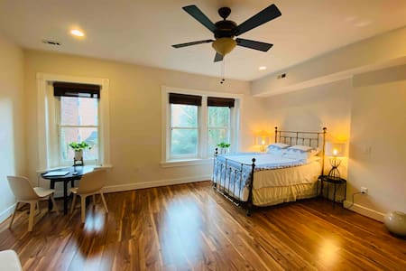 Large room in friendly house in center of D.C.