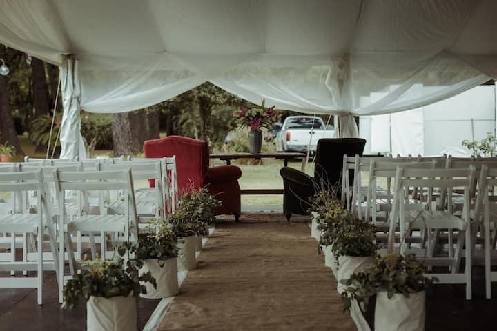 Casa de Campo solo para bodas / eventos .Consultar