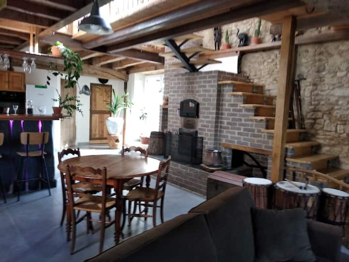 Maison atypique aux portes d'Angers