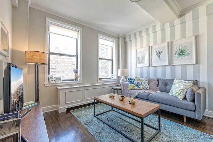 Stately + Spacious UWS 1BR w/ Doorman + Gym by Blueground