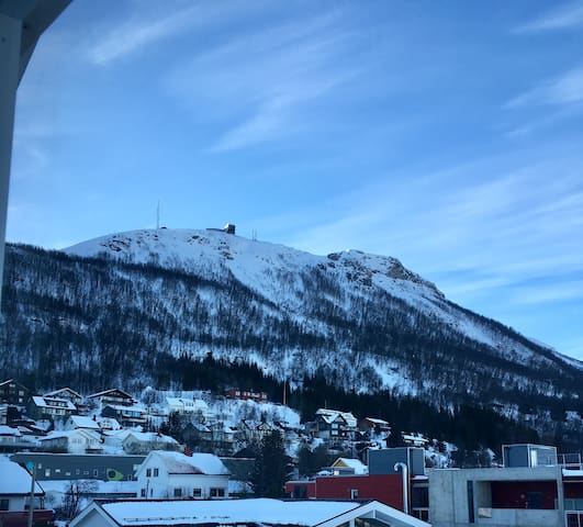 Room with view to the cable car - Tromsø - 公寓