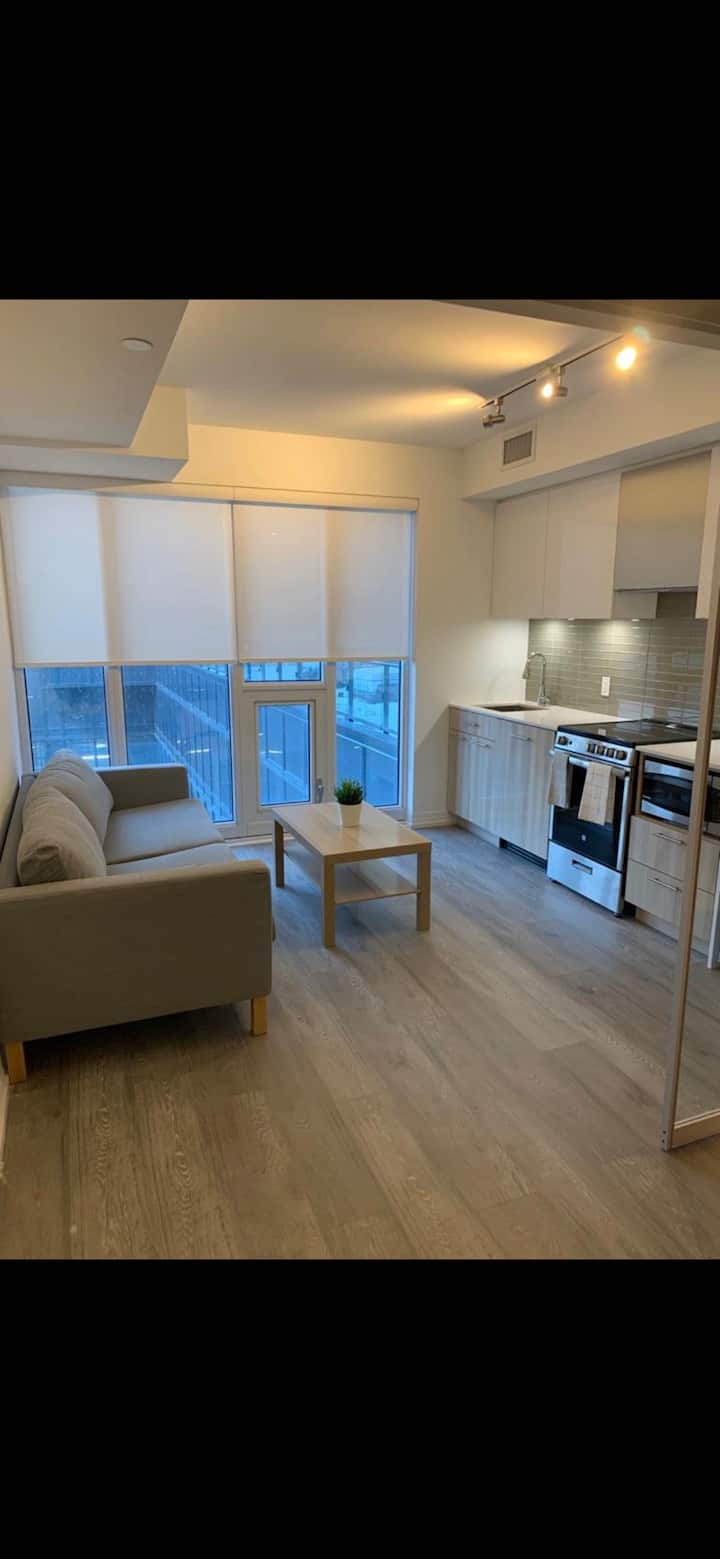 Modern and Cozy Suite, Steps from Eaton Centre