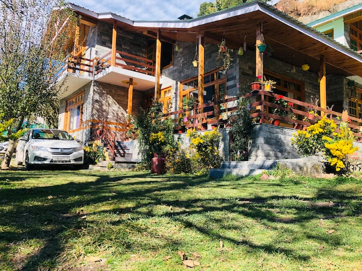 Wooded Bliss Manali | Entire Chalet | Workation