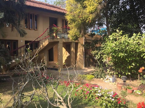 Authentic Shantiniketan Mud Villa - Diya Villa 3