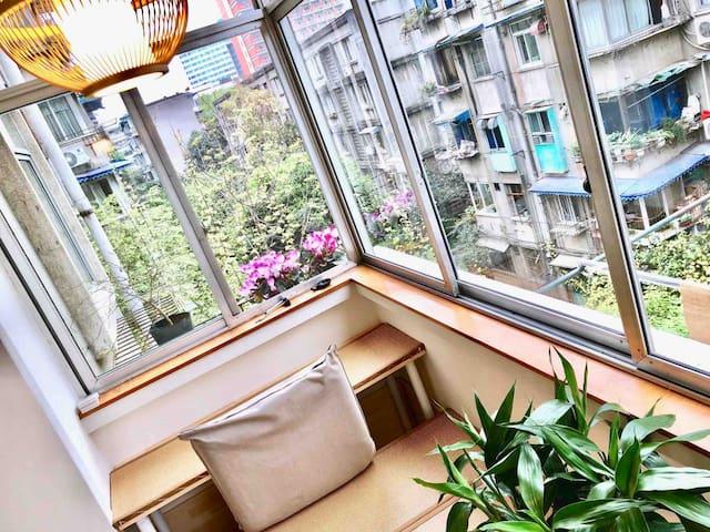 【简舍】双床间*宽窄巷子 春熙路 双地铁 • 自然复古安静 近菜市公园 • 设计师家