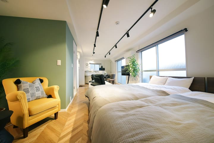 Near to Shibuya and Daikanyama! Designer apt 401
