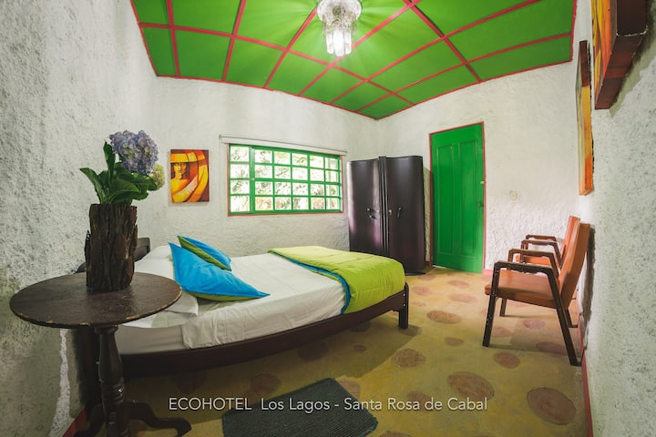 Ecohotel Los Lagos, Habitación Zuluaga - Múnera