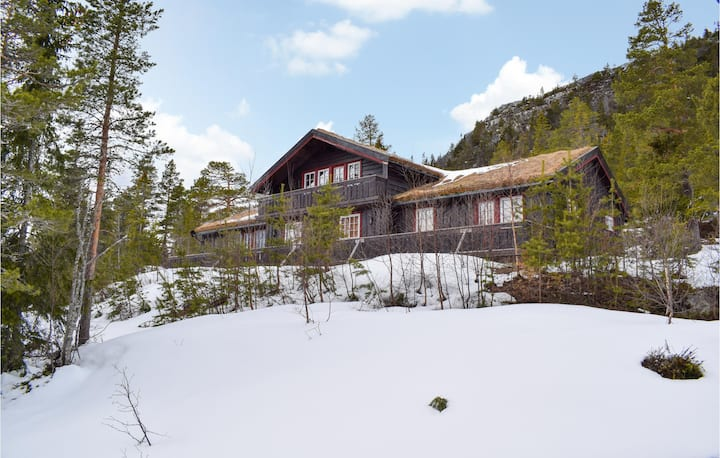 Nice home in Eggedal with Sauna and 6 Bedrooms