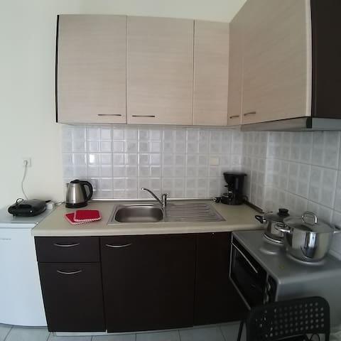 Πλήρως εξοπλισμένη κουζίνα!  Fully equipped kitchen!