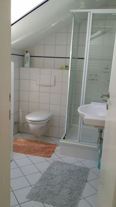 Bad/WC im OG neben dem Schlafzimmer
