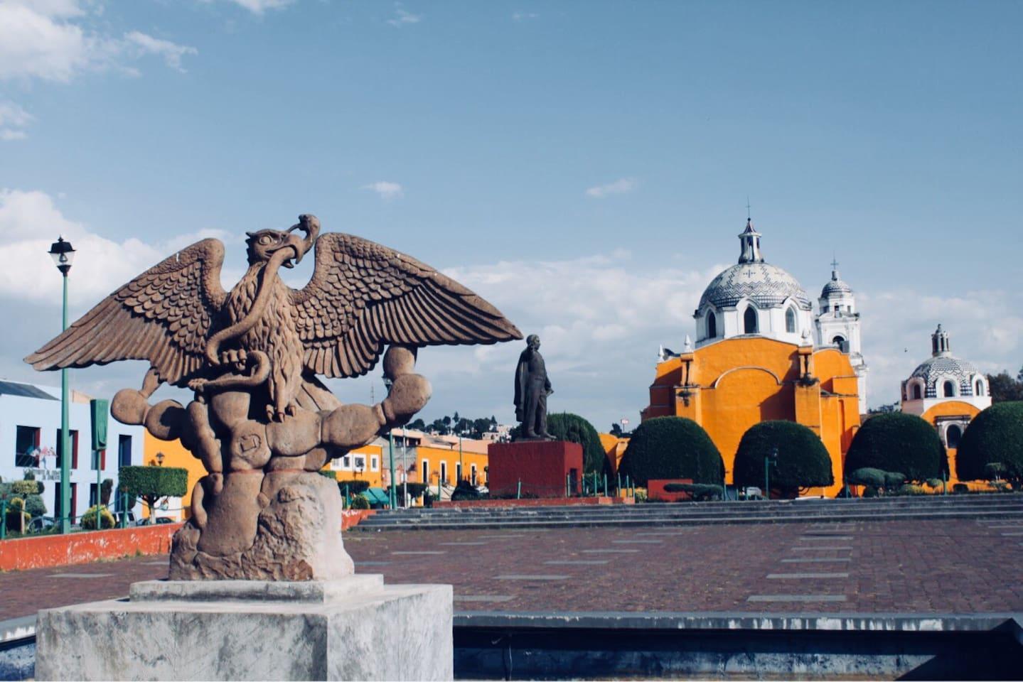 Plaza Juárez e Iglesia San José