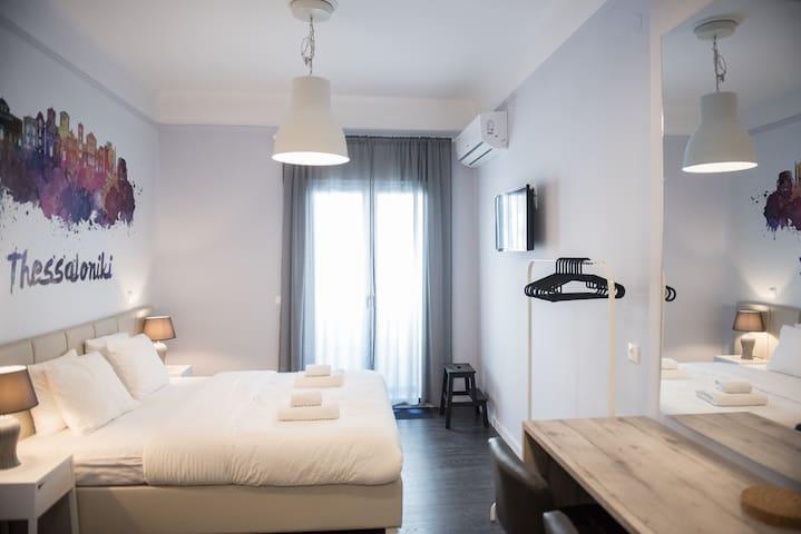Bedroom, double bed