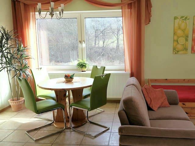 A1: Helle, gemütliche Wohnung in Altstadt-Nähe