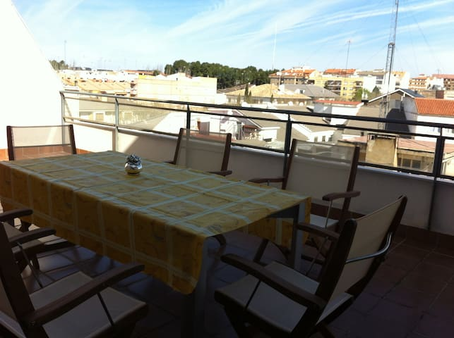 Ático dúplex en Requena - Requena - Apartment
