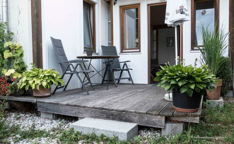 Charming Holiday Apartment Oestreich close to Chiemsee Lake with Wi-Fi & Terrace; Parking Available