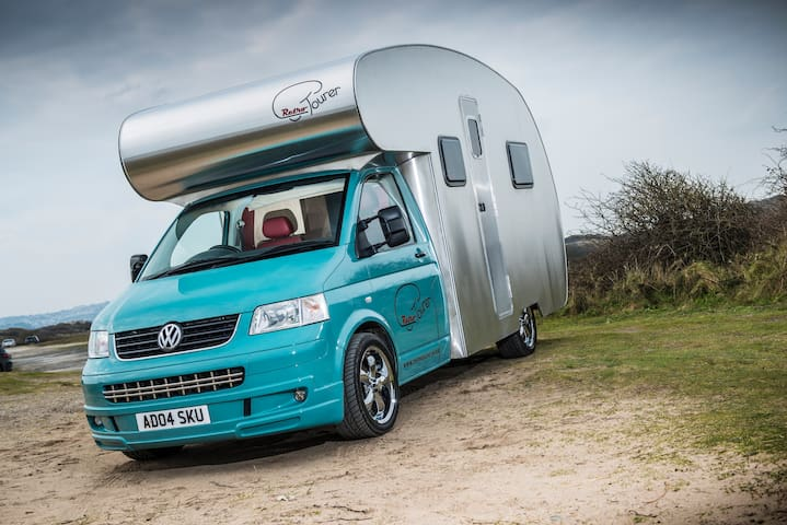 Sir James A Luxury Retro VW T5 Motorhome UK/EU - Huyton