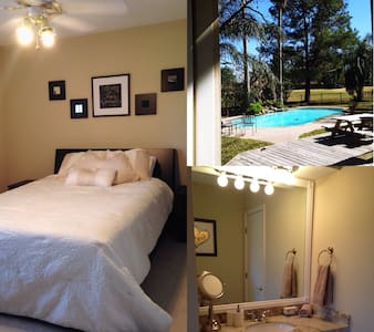 2nd Floor, Bedroom w/ Private Bath - The Woodlands - Hus