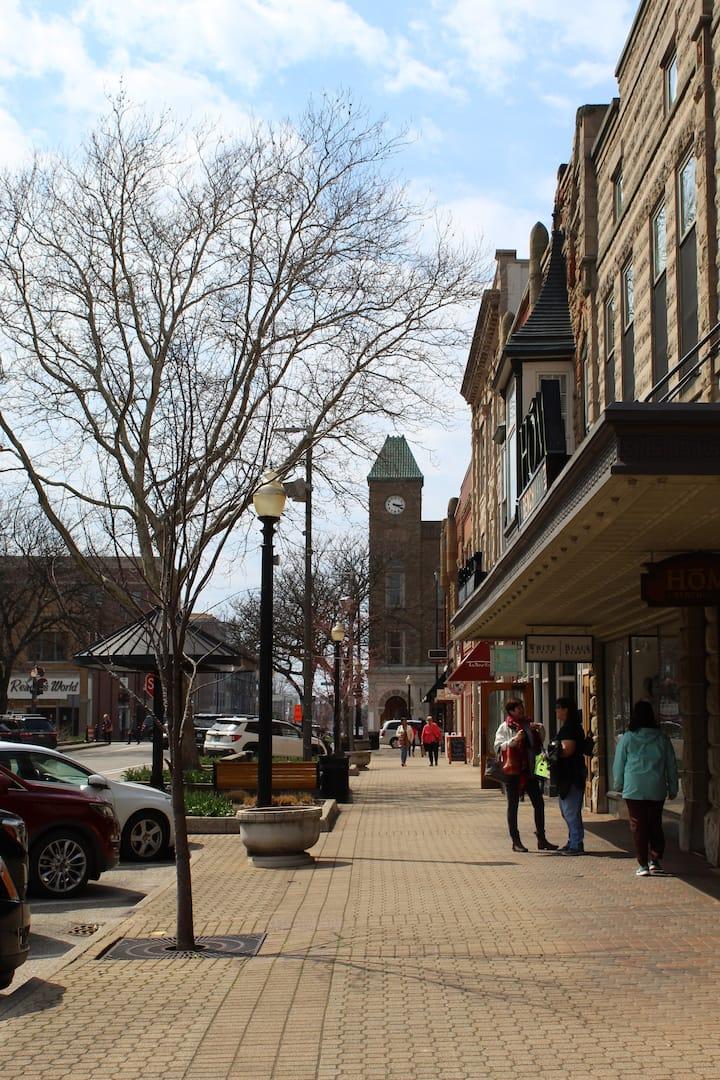 Beautiful downtown Holland, Michigan!