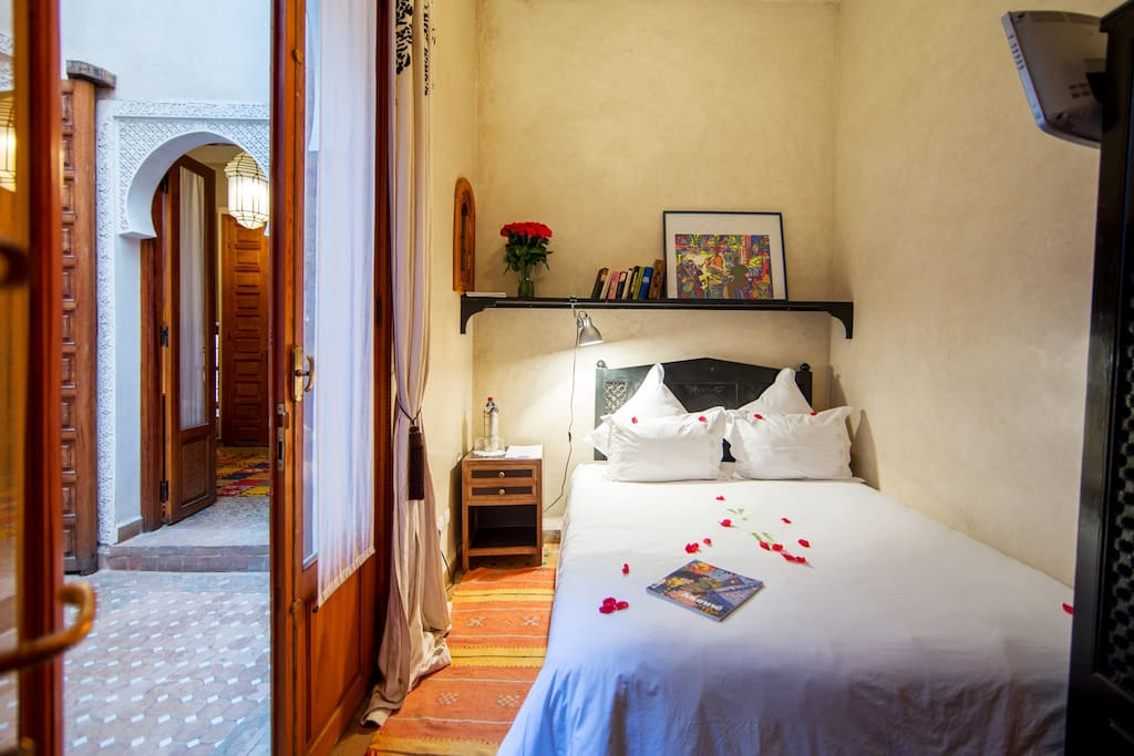Cute room in the heart of the medina marrakech boutique for Cute hotel rooms