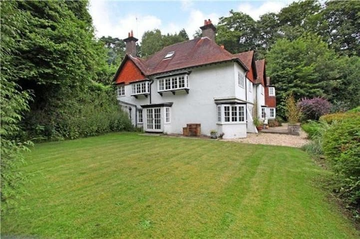 Edwardian country family home.
