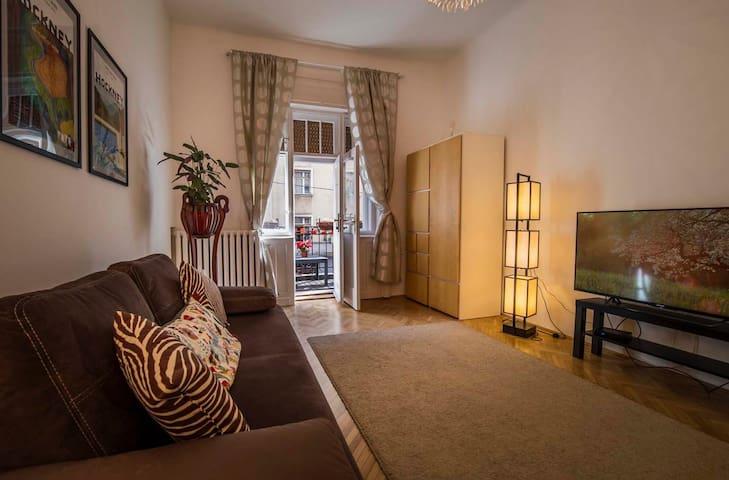 Delightful, quiet luxury apartment near the Danube