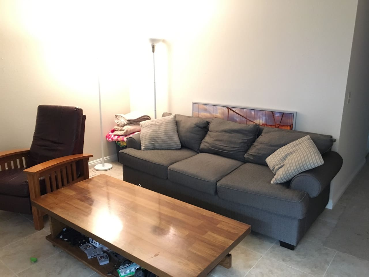 Very big, deep, comfortable couch!