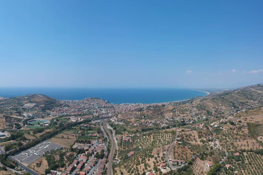 Panorama di Agropoli