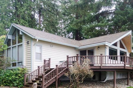 Waterfront Log Cabin - Poulsbo