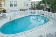 Another great view of the pool that will be more of an oasis than you realize!