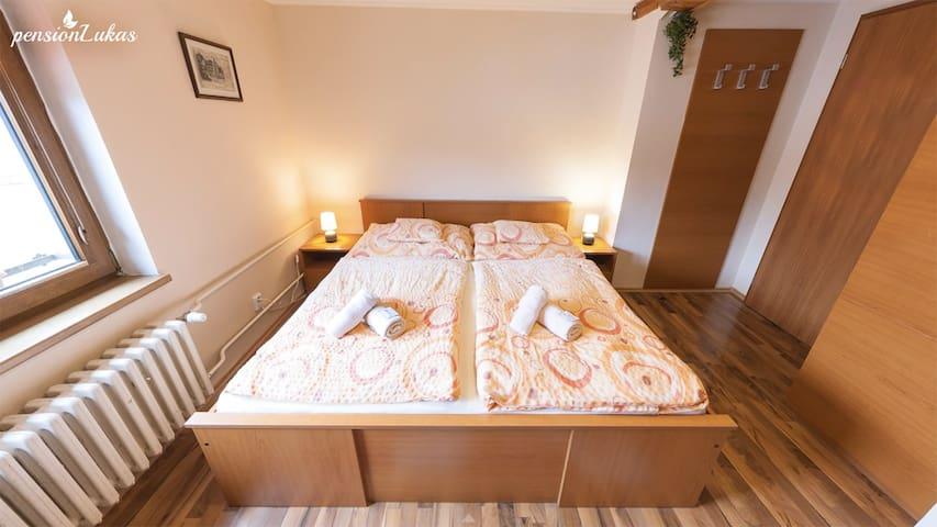Pension Lukas Double Room with shower
