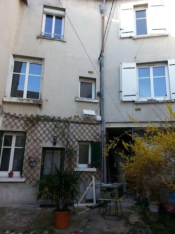 L'ERMITAGE n°2 ( étage 1 ), proche centre et Loire - Tours - Apartamento