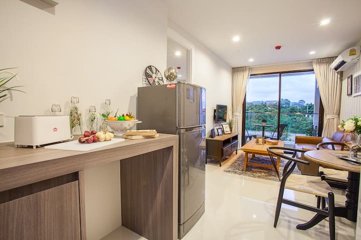 83m2 5 Star Apartment Living at Beach - Tambon Na Chom Thian - Ortak mülk