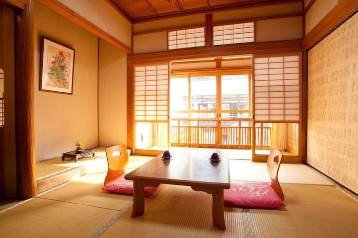 NARA/DOROGAWA ONSEN★Hot springs and hospitality with Breakfast and Dinner【10畳・3名様/2食付】