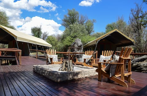 Luxury Tented Camp at Luara Wildlife