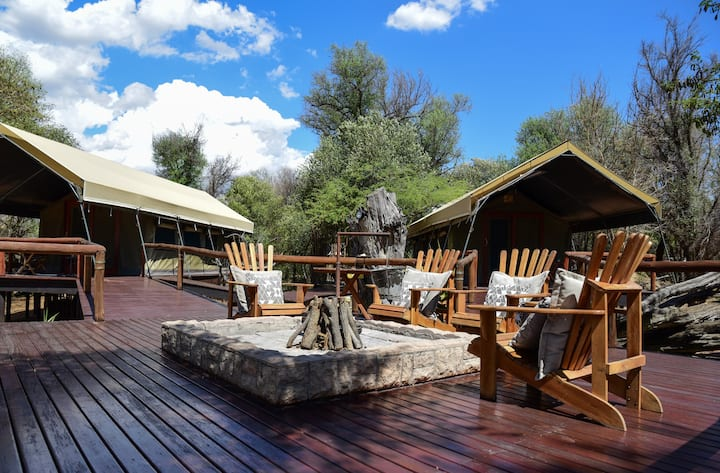 Luxury Tented Camp at Luara Wildlife