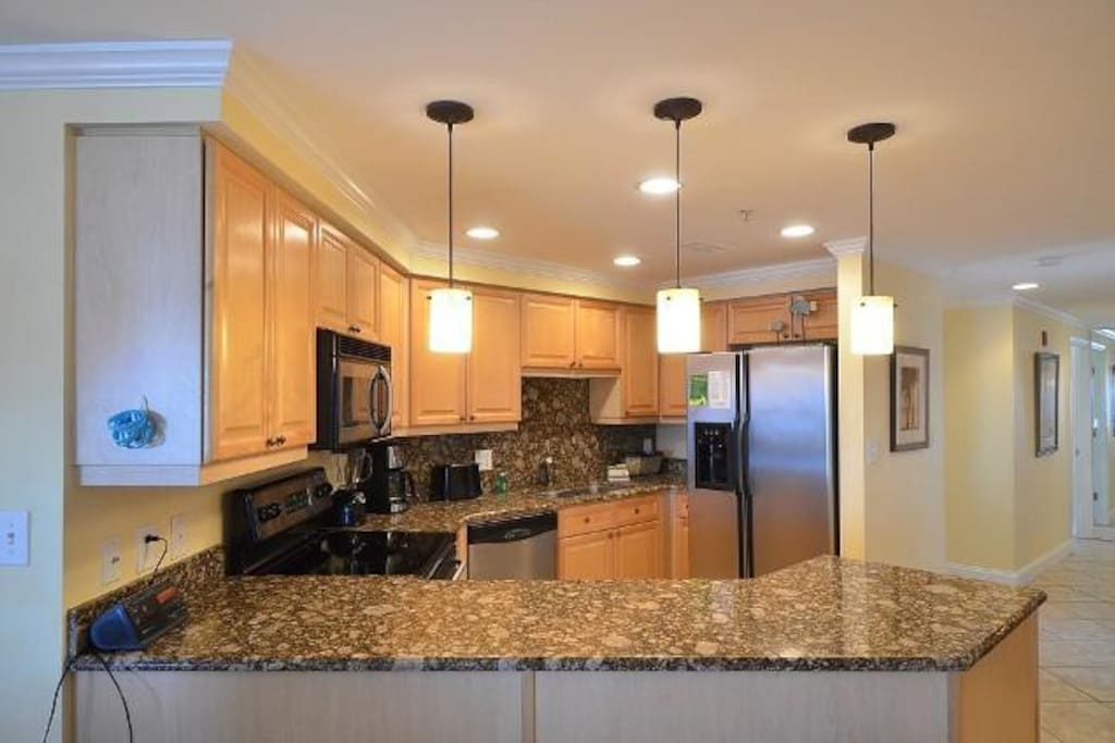 Kitchen features Stainless St