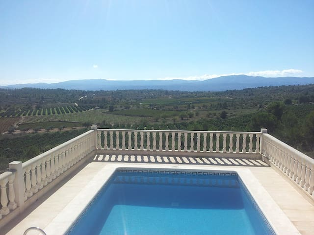 Beautiful villa & pool, Valencia. - Godelleta - Vila