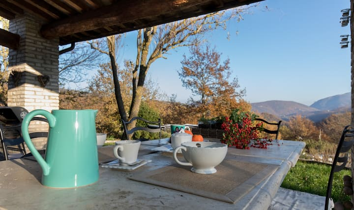 La Stella - self contained cottage in Umbria