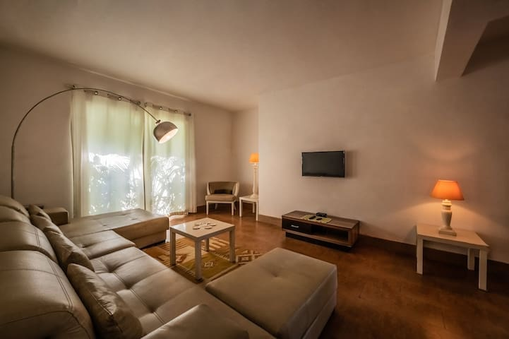 Cosy Nest in Arpora   1BHK Safe Serviced Apartment