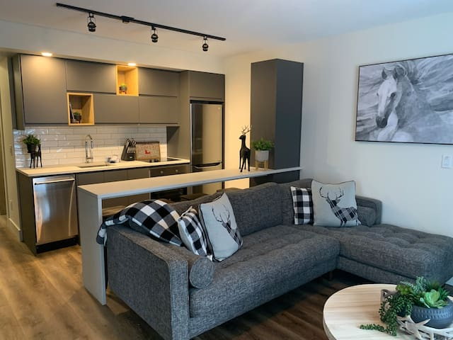 SDS  New 1 bedroom condo with semi-private hot tub