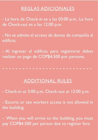 normas adicionales/additional rules