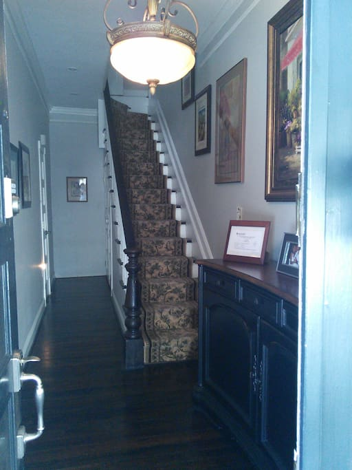 Entrance to upstairs