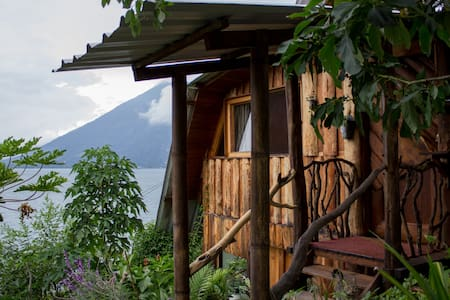 Eco Cottage on Lake Atitlan - San Marcos - Kisház