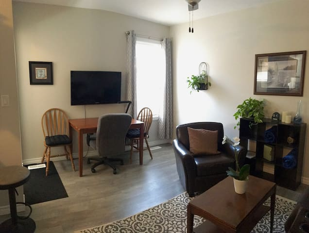 Newly Renovated Apartment Near Downtown!